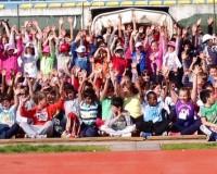 233 bambini provano l'atletica