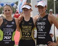 La campionessa in carica Annamaria Mazzetti a Caorle (VE) alla ricerca dell'ennesimo tricolore